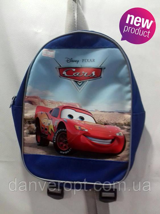 Рюкзак детский модный CARS для мальчика размер 27х20 купить оптом со склада 7км Одесса