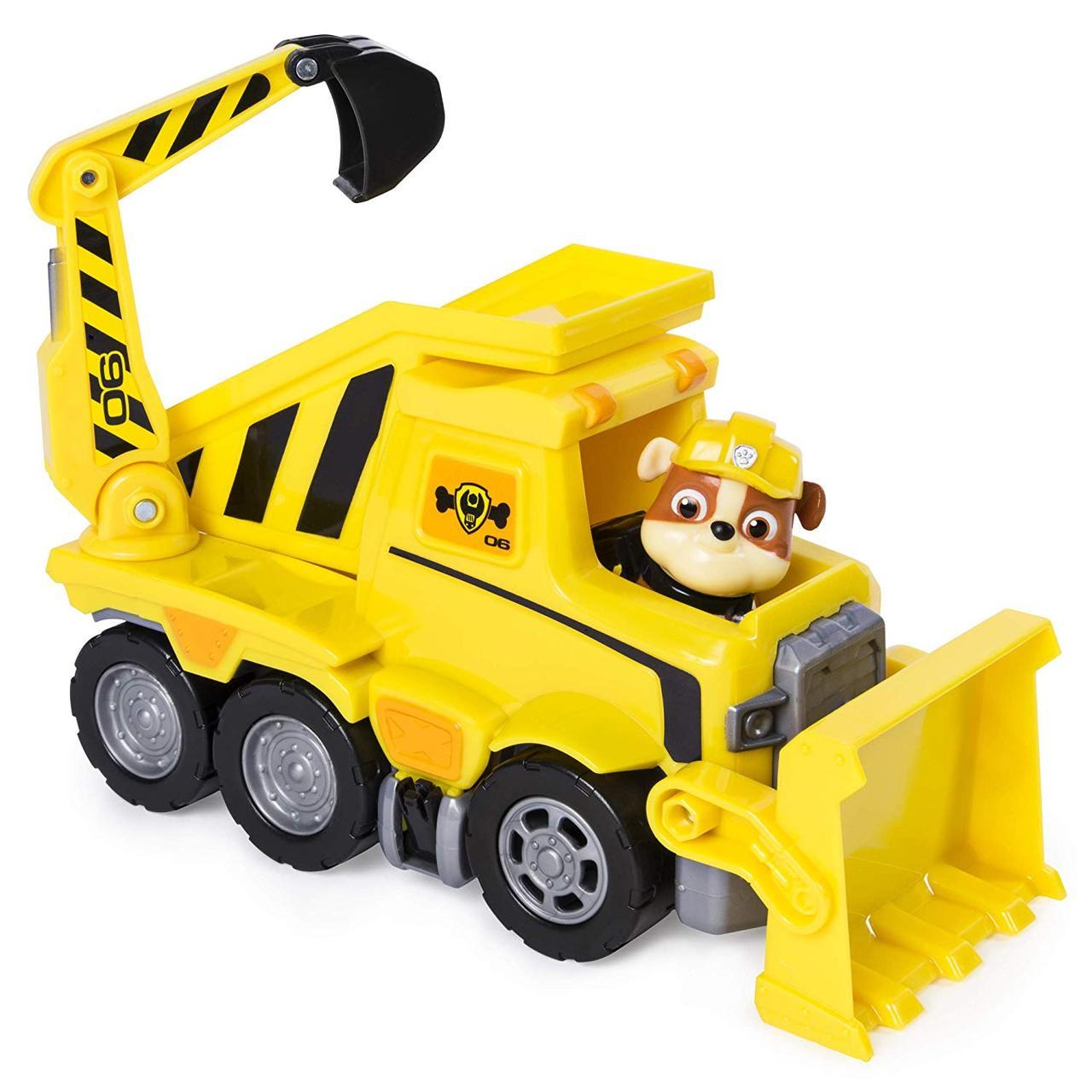 Paw Patrol Щенячий патруль спасательный бульдозер Крепыша Ultimate Rescue Rubble's Ultimate Bulldozer Scoop