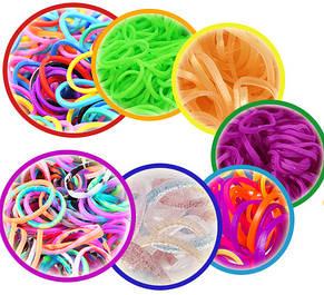 Резиночки loom bands МИКС 10 пакетиков х 200шт. (2000 шт), фото 3