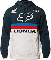 Толстовка Fox Honda Pullover Fleece біло-синя, L, фото 1