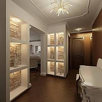 Дизайн интерьера в Одессе (кв.м по полу)