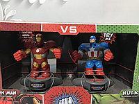 Роботи боксери залізний людина і капітан америка