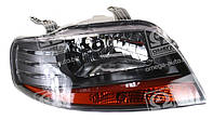 Фара правая Chevrolet Aveo (T200) 2003 - 2008, механ., светлый корпус, (Tempest, 016 0105 R4C) - шт., фото 1