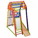 Акция! Деревянный Детский спортивный комплекс BambinoWood Color Plus SportBaby, фото 5