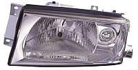 Фара левая Skoda Octavia I (A4) (рестайлинг) 2000 - 2011, электр., H4, с сервоприводом, (Depo, 665-1106L-LDBEM) OE 1U1941017N - шт.