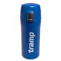 Оригинальная термос - кружка Tramp 0,35 л синий TRC-106-blue
