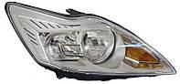 Фара правая Ford Focus II (рестайлинг) 2008 - 2011, электр., H1+H7, светлый корпус, с сервоприводом, (FPS, FP 2809 R4-P) OE 8M5113100AA - шт.