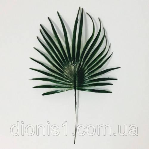 Лист пальма средний пластик