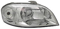Фара правая Chevrolet Aveo (T250) 2005 - электр., (TYC, 20-11081-05-2) OE 96650522 - шт.