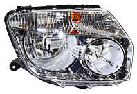 Фара правая Renault Duster (дорестайл) 2010 - 2015, электр., без сервопривода, (Depo, 551-1186R-LDEM1) OE 260100067R - шт.