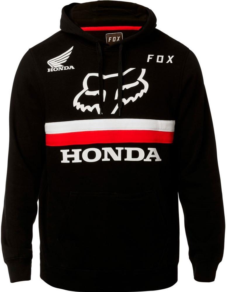 Толстовка Fox Honda Pullover Fleece чорна, XL
