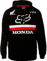Толстовка Fox Honda Pullover Fleece чорна, XL, фото 1