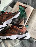 Мужские кроссовки Nike M2K Tekno (Найк) разноцветные, фото 3