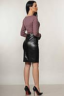 Трикотажный женский лонгслив Beis soft (42–52р) в расцветках, фото 7