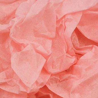 Папиросная бумага тишью коралловая 50 х 70 см