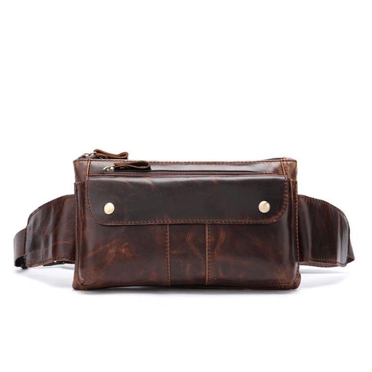 Поясная кожаная сумка Marrant
