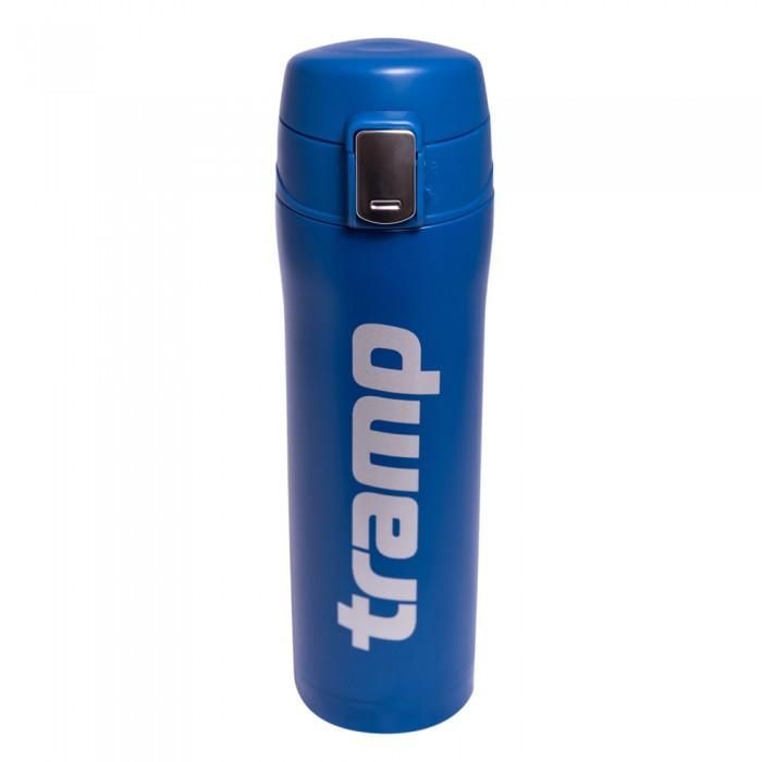 Оригинальный термос - кружка Tramp 0,45 л синий  TRC-107-blue