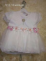 Нарядное платье гипюровое с балеро