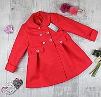 """Пальто дитячі кашемірові для дівчинки """"Єва"""", фото 1"""