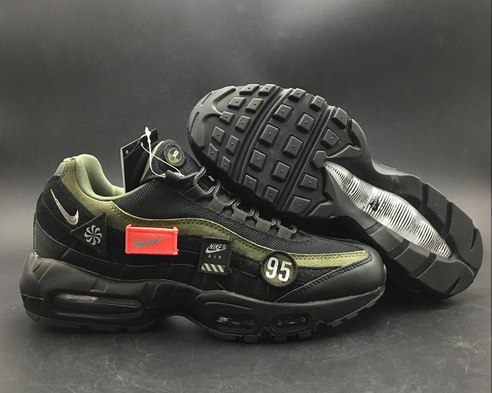 """Кроссовки Nike Air Max 95 HAL """"Черные"""""""