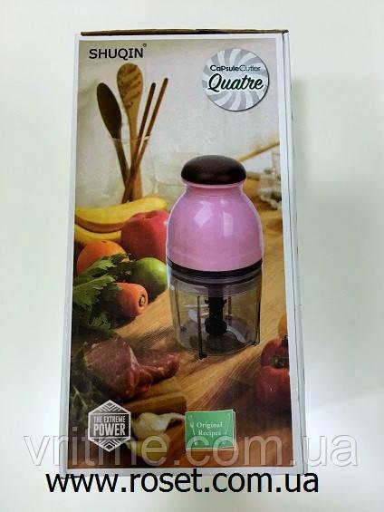 Універсальний чоппер (подрібнювач продуктів) Capsule Cutter Quatre
