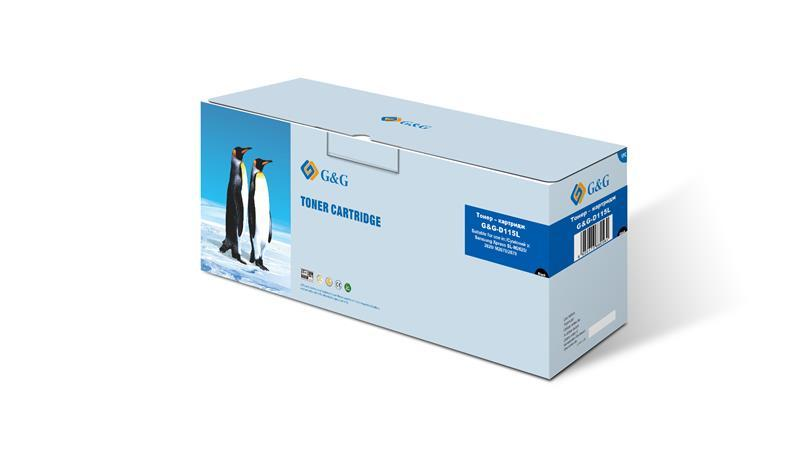 Картридж G&G (G&G-D115L) Samsung SL-M2620/2820/M2670/2870 Black (аналог MLT-D115L)