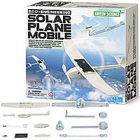 Набор для создания модели самолета 4M Самолет на солнечной батарее (00-03376)
