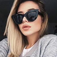Солнцезащитные очки в стиле кошачий глаз , фото 1