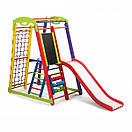 Акция! Деревянный Детский спортивный уголок с горкой  Кроха - 1 Plus 3 SportBaby, фото 3