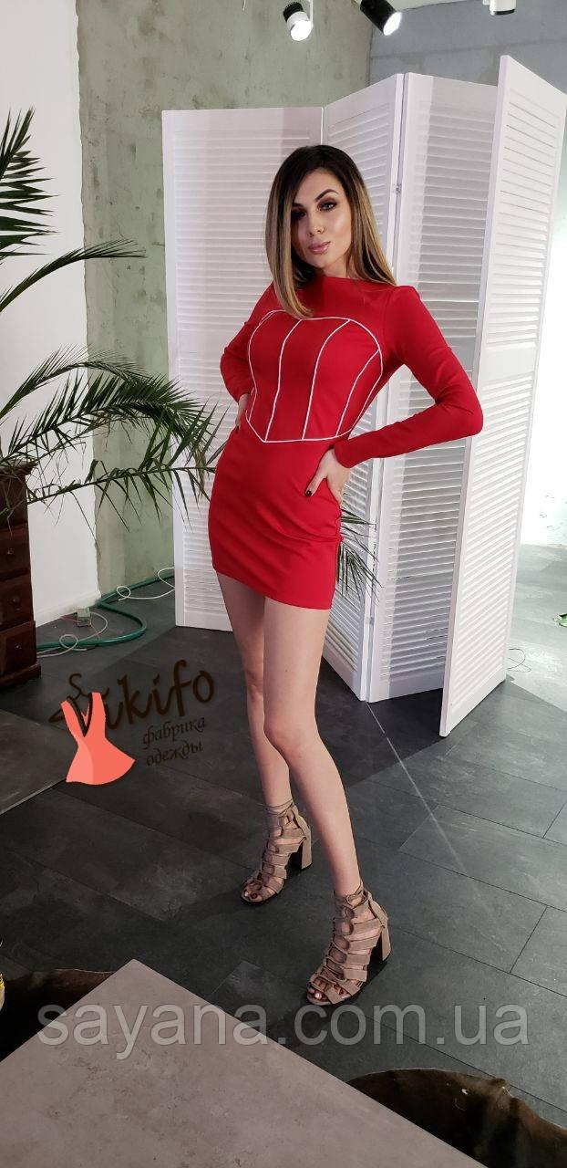 модное молодежное платье оптом