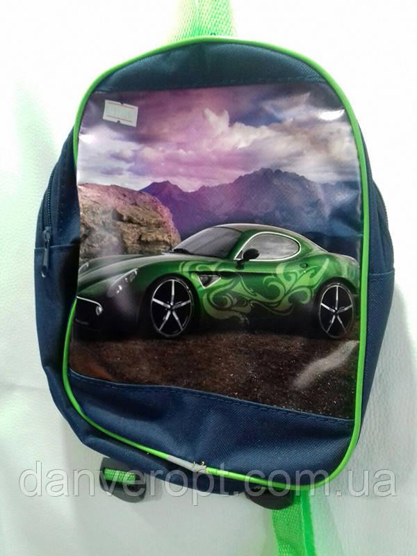 Рюкзак детский модный CAR для мальчика размер 27х20 купить оптом со склада 7км Одесса