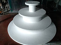 Подcтавка (разборная)под капкейки, кексы Ø 80 см 4 яруса