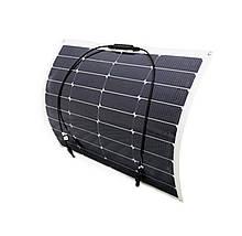 Полу - гибкая солнечная панель 50 Ватт монокристаллическая