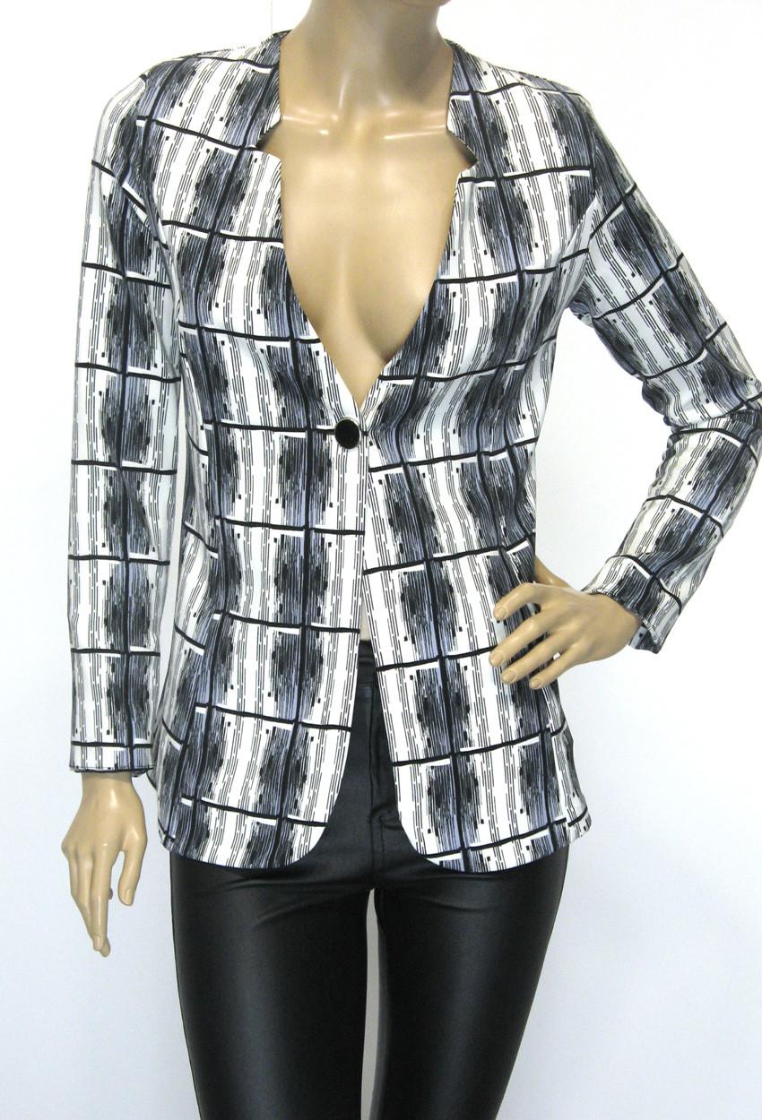 Жіночий короткий піджак без підкладки Podium