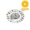 Врезной светильник Feron GS-M393 (серебро)