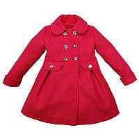 Пальто для девочек 4-8 лет
