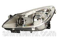 Фара левая Opel Corsa D (5дв.) 2007 - 2011, электр., (Valeo, 043375) OE 1216189 - шт.