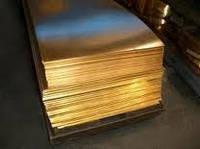 Лист латунный 0.6х600х1500