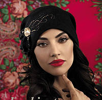 """Женская шапка ТМ Willi """"Соната"""", 540 пыльная роза"""
