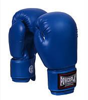 Боксерские перчатки PowerPlay 10 OZ синий