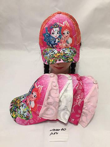 Летняя детская кепка для девочки р.54, фото 2