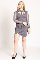 Платье Glem M серый (SE-42_Gray)
