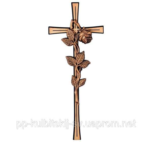 Бронзовий хрест для памятника з граніту Jorda 2288/40