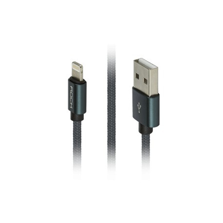 Кабель Rock Оригинал Lightning to USB Charge Cable 1000mm