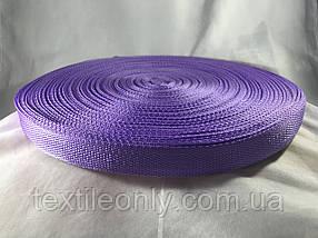 Тесьма сумочная цвет фиолетовый 25 мм