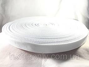 Тесьма сумочная цвет белый 25 мм