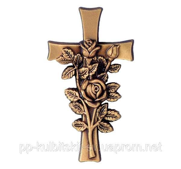 Бронзовий хрест Jorda 2409