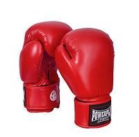 Боксерские перчатки PowerPlay 12 OZ Красный
