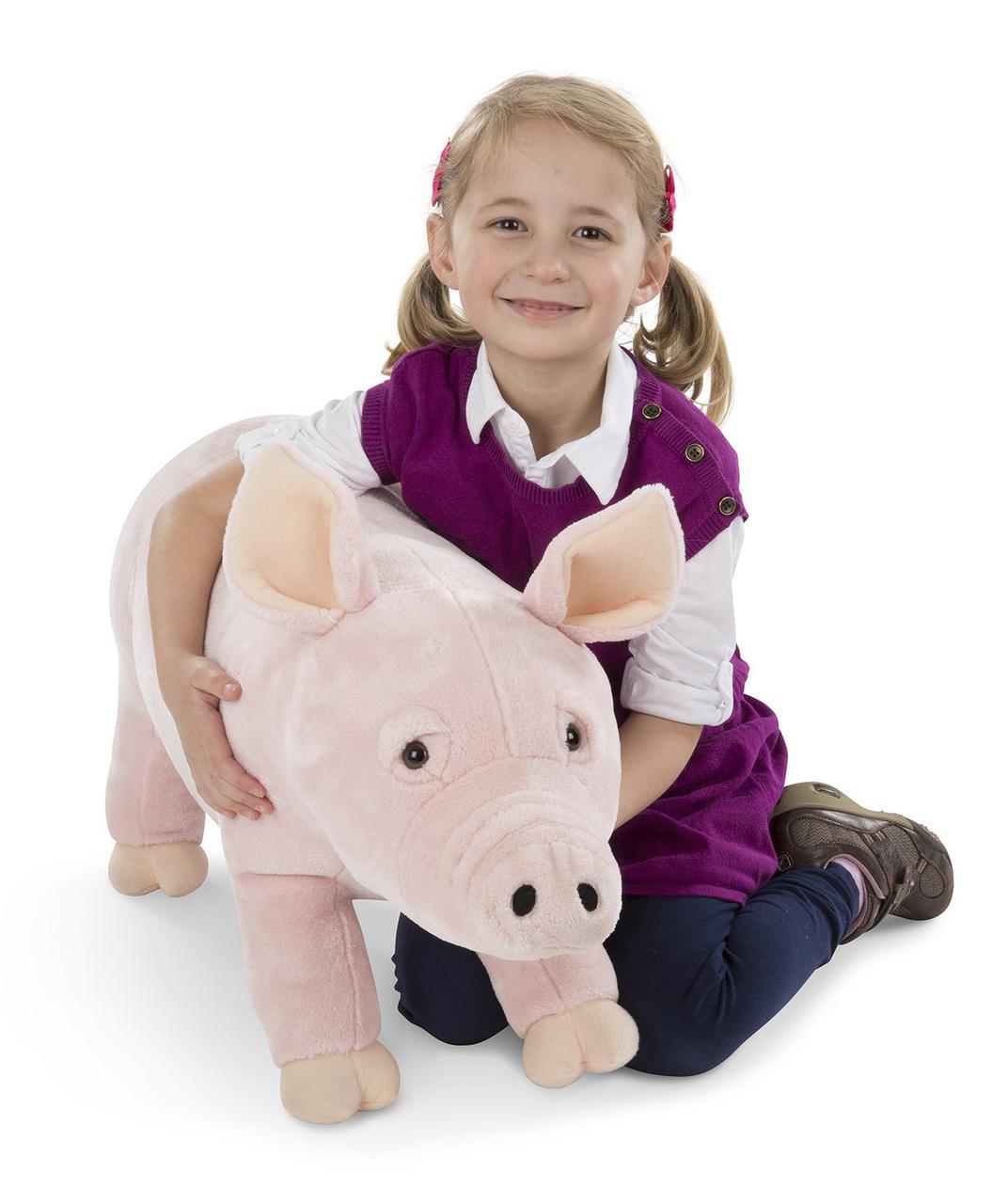 Плюшевая свинка 66 см Melissa&Doug (MD8833)