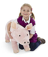 Плюшевая свинка 66 см Melissa&Doug (MD8833), фото 1